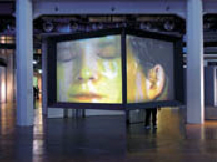 Judith Barry Installation